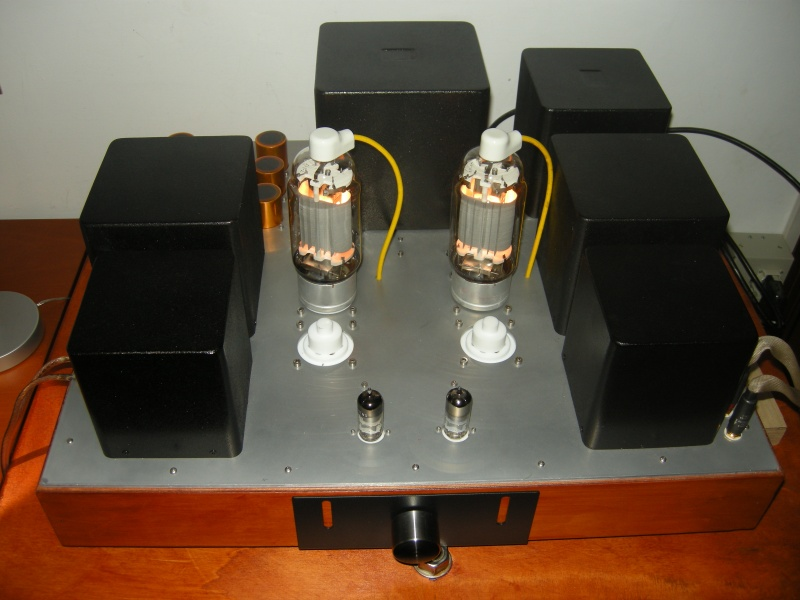 813 / GM70 amplifier with Bartolucci transformers