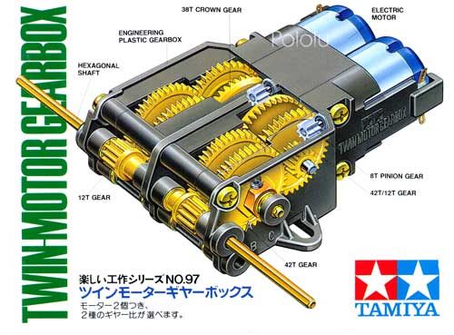 tamiya mini 4wd gear ratio guide