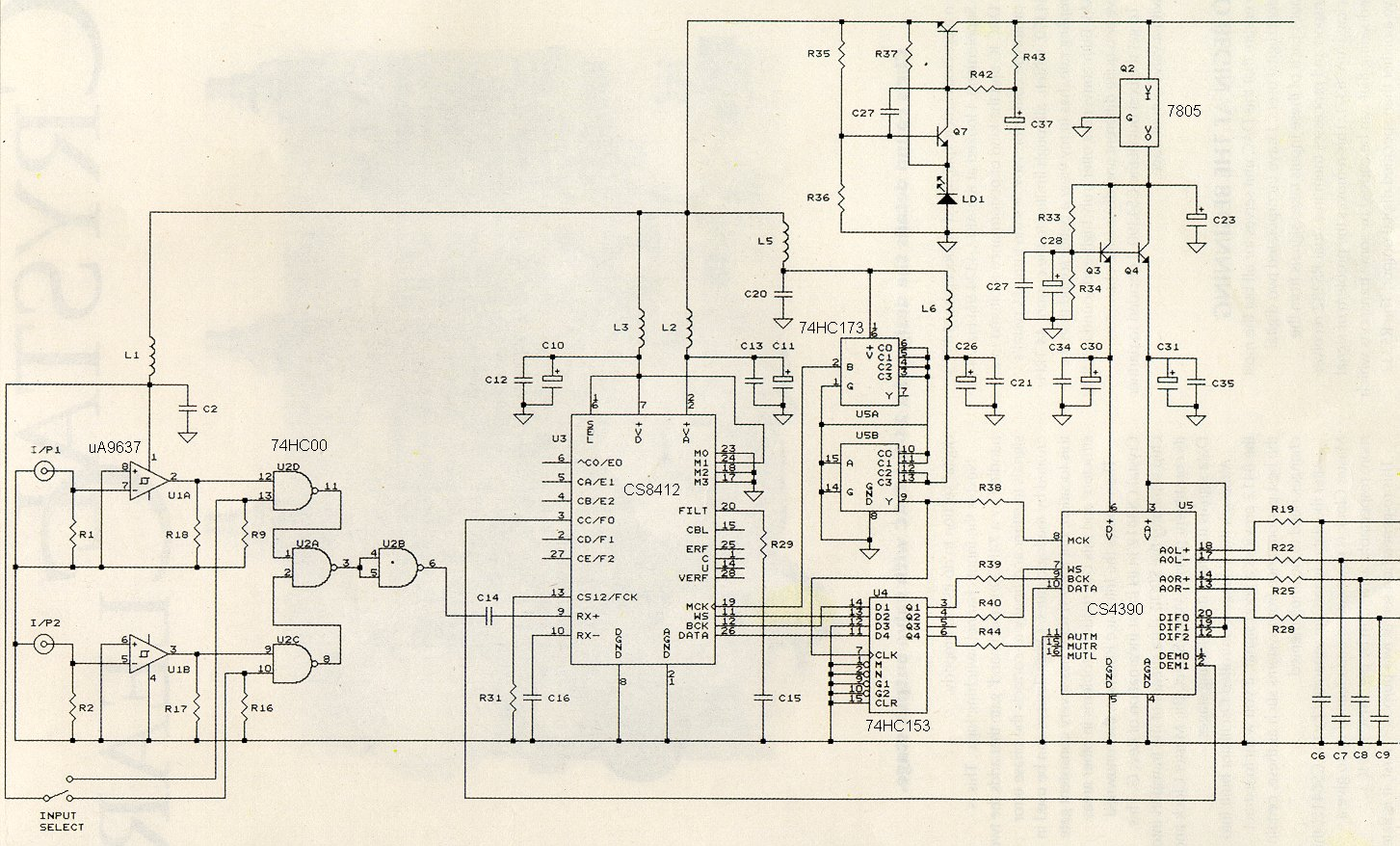 Andrea Ciuffoli Dac Cd Player Naze32 Wiring Diagram Stage Circuit